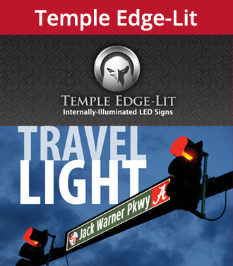 temple edge lit